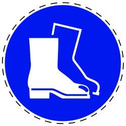 Gebruik voetbescherming
