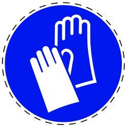 Gebruik handbescherming