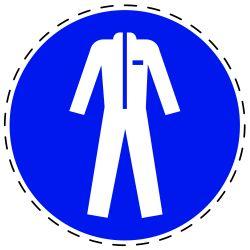 Gebruik beschermende kleding