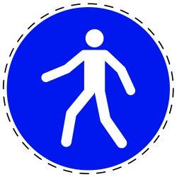 Gebruik voetgangerspad