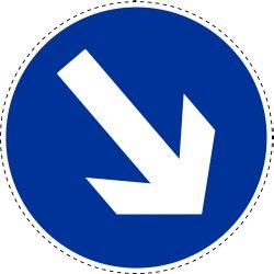 Gebod te passeren rechts