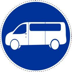 Weg gereserveerd voor reguliere transitvoertuigen