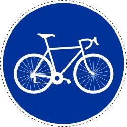 Rijbaan voor fietsen