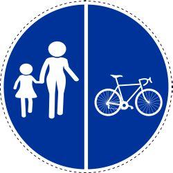 Alleen voetgangers en fietsers