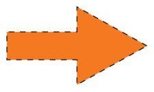Pijlen - oranje