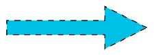 Pijlen - Blauw
